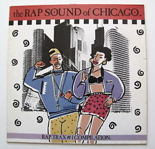 RAP TRAX 1.....COMPIL....RAP SOUND OF CHICAGO........LP