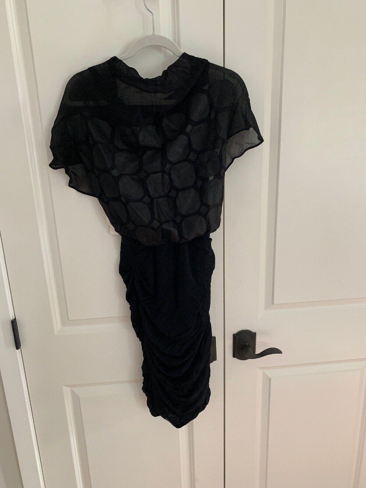 Yigal azrouel schwarz Dress 6 Retail  Stunning