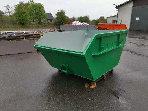 Absetzcontainer Absetzmulde Container Bauschuttcontainer 3 m3 offen asymmetrisch