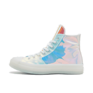 Details about Men's Converse Chuck 70 High Top Casual Shoes  White/Iridescent/White 163786C 102