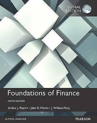 1 of 1 - Foundations of Finance, Global Edition, Martin, John D., Petty, J. William, Keow