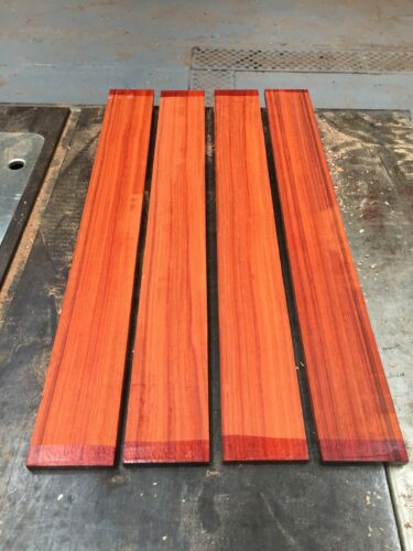 Fretboards// Padauk Guitar Fingerboard //Exotic Wood