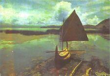 B22321 Ricardo Torossian Argentina Lacul Titicaca  painting