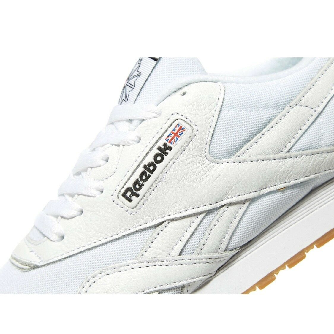 Authentic Reebok Reebok Reebok CL Nylon ® ( Mens Größe UK 8,11 EUR 42,45.5 ) Weiß Leather 2018 a8ad72