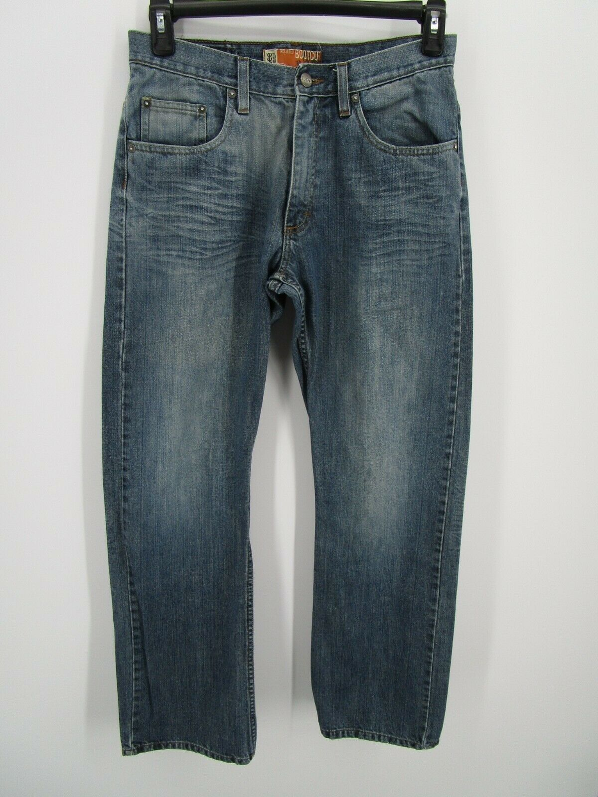 Lee Dungarees Men Size 31X32 Retro Y2K Blue Relax… - image 1