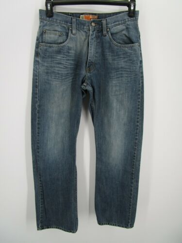 Lee Dungarees Men Size 31X32 Retro Y2K Blue Relaxe