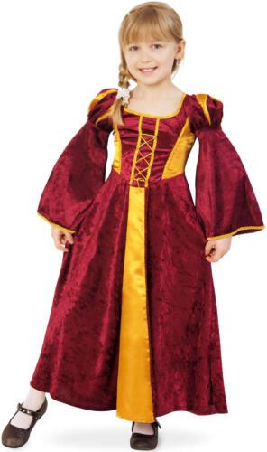 Burgfräulein Mia Burgfrau Kinder Karneval Fasching Kostüm 104-140