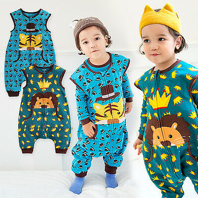"""Expressive Vaenait Baby Toddler Kids Boys Clothes Sleepsack """"secret Simba And Tiger"""" 1t-7t Exquisite Traditional Embroidery Art"""