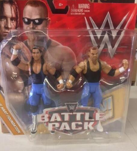 Jim Neidhart Hart Foundation WWE Mattel Battle Pack Series 47 Figure Comme neuf pack