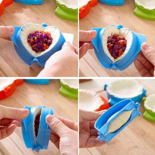 1x Kitchen Plastic Dough Press Maker Dumpling Pie Ravioli Making Mold Mould G/_