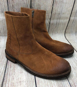 Clarks Tan Brown Leather Casual Side