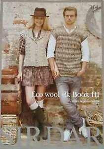 Sirdar-Eco-Wool-DK-Book-III-7-designs-for-men-and-women