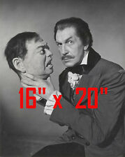 "Vincent Price~Horror~Head~Poster~16"" x 20"" Photo"