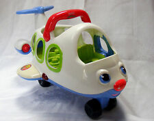 FISHER PRICE Little People Li'l Movers Airplane, Lights, Talks & Sings! Toddlers