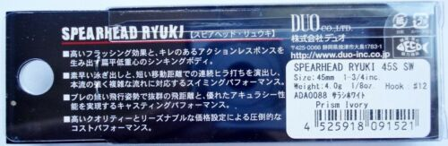 Angeln DUO Spearhead RYUKI 45S SW LIMITED Japan Wobbler Köder 9 Farben NEU