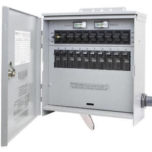 Pro/Tran2 - 30-Amp (120/240V 10-Circuit) Outdoor Transfer S   eBay
