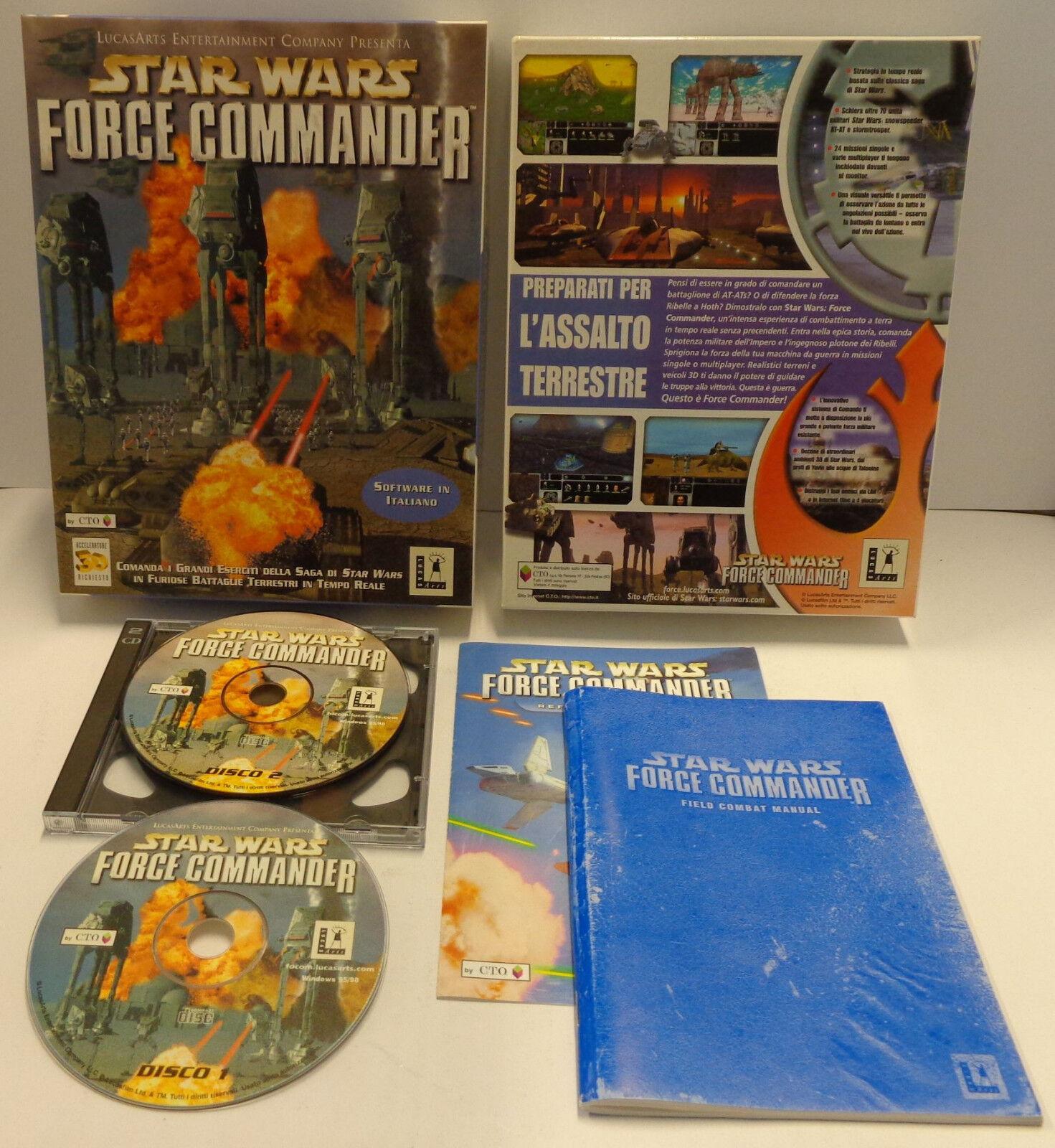 PC Computer Game Big Box CD-ROM ITALIANO - Avis StarWars