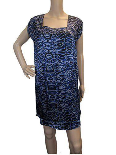 ^NWT  430 DIESEL Dalessan-a DRESS blueE SILK SILK SILK SIZE 09ca85