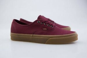 vans authentic light gum