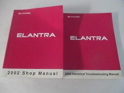 2002 HYUNDAI ELANTRA SERVICE REPAIR MANUAL INCLUDES WIRING DIAGRAM MANUAL   eBay