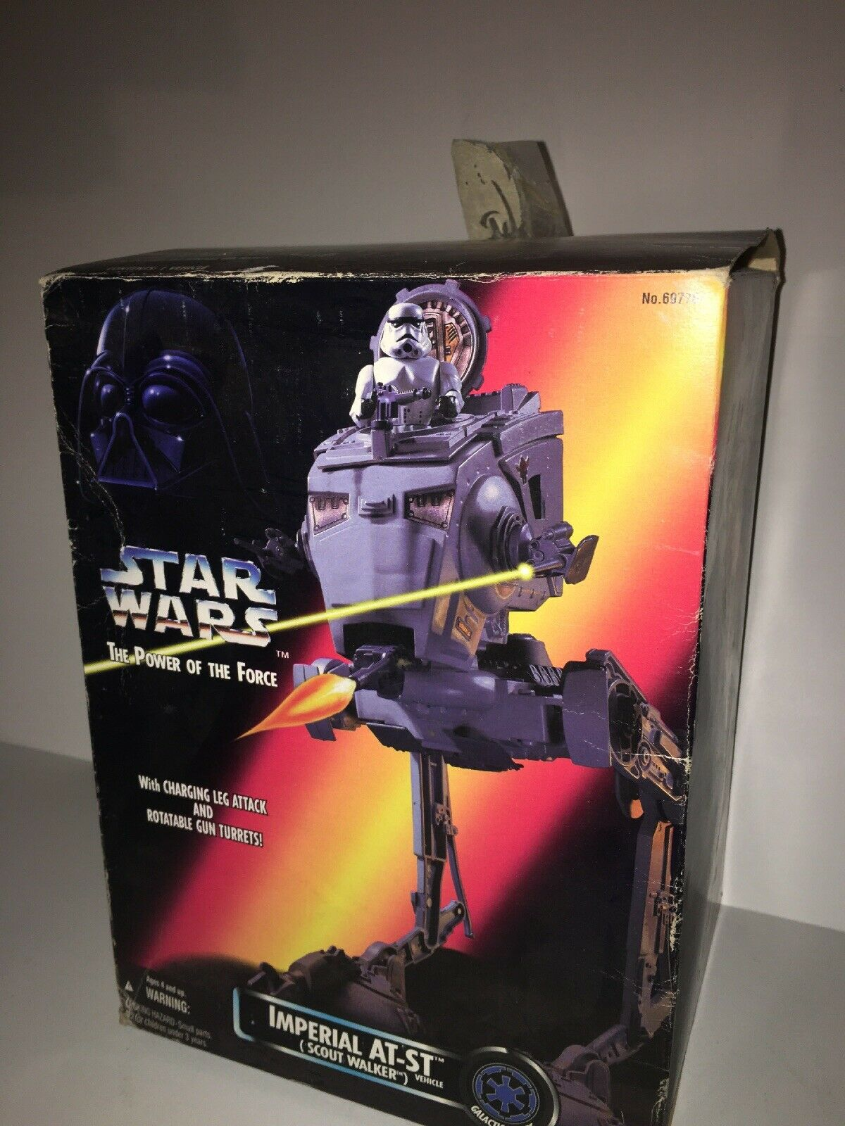 Kenner estrella guerras energia Of The Force Imperial ATST Scout Walker Vehicle...