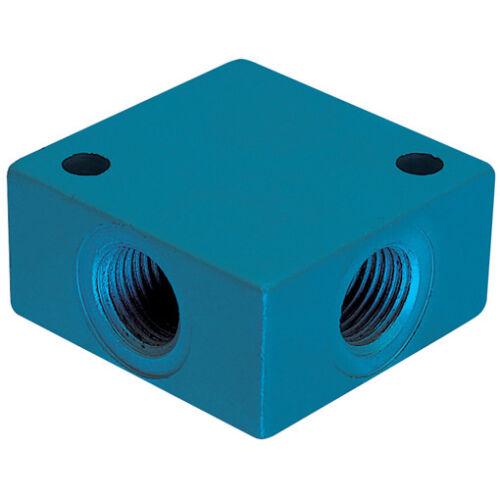 "Kelm METAL//MICRO Empuje en Accesorios 1//2/"" BSP Hembra igual Cruz De Aluminio 5-0014"