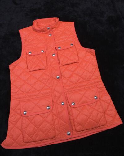 Taille Gilet Nwt New Lauren Femme 888572498407 Ralph L Large Orange q1xRgtB