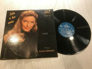 Julie-London-Julie-is-Her-Name-Vol-2-Rock-Record-lp-original-vinyl-album