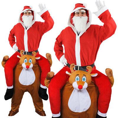 Adulti Renna Prendermi Babbo Natale Cappotto Natale Rudolph Natale Unisex Costume-mostra Il Titolo Originale