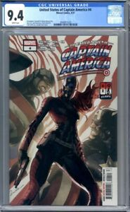 United States of Captain America #4 1st Appearance of Ari Agbayani CGC 9.4