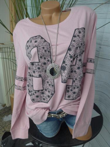 Sheego Shirt Sweatshirt Langarm Gr 40//42-52//54 073