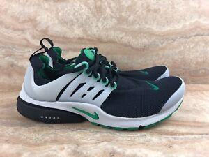 Nike-Air-Presto-Essential-Black-Green-Running-Shoes
