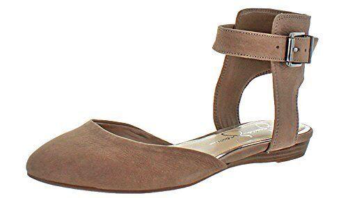 Jessica Simpson Loranda Damenschuhe Pick Ankle Strap Flats Beige- Pick Damenschuhe SZ/Farbe. 6fa6ed