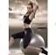 Leggings-leggin-pantacalza-pantaloni-fitness-sport-donna-Lepel-yoga-palestra miniatura 5