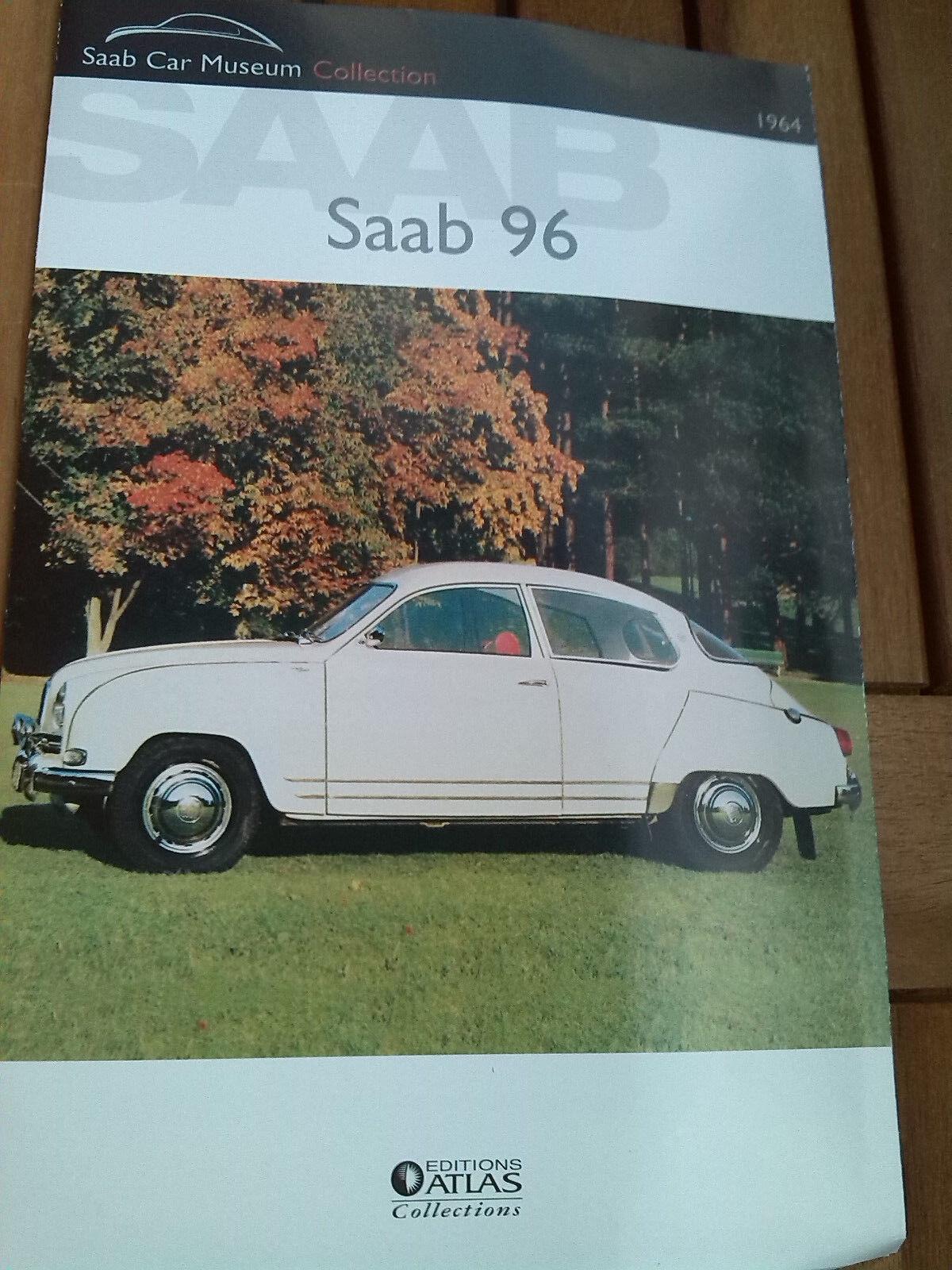 Saab 96, échelle 1 43, NEUF dans sa boîte et nouveau du Atlas Verlag.