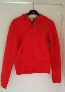 Sweat-zippe-rouge-a-capuche-Nike-ACG-femme-Taille-M-taille-petit
