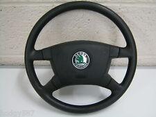 Skoda Fabia 00-04 Black steering wheel and airbag 6Y0 419 091 E 6Y0419091E