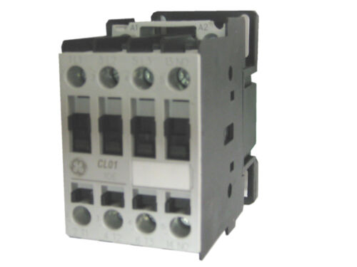 GE CL01A310TN 3 pole 25 AMP contactor 230v50Hz//277v60Hz coil and 1 NO contact