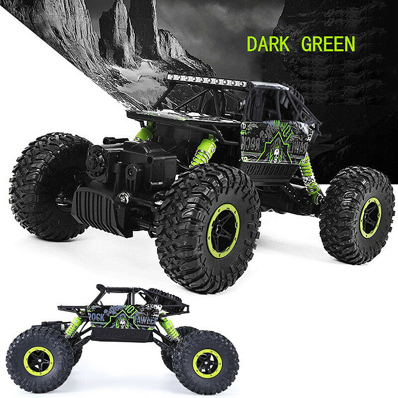 RC RC RC 2.4G 4Ch Crawler 4x4 Double Motors Bigfoot Remote Control Car Vehicle Toy GR 272fe9