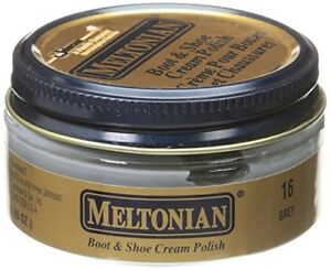 afdf64073456b Details about Meltonian GREY 16 Boot & Shoe CREAM Polish Shine and Protect  Leather #16 gray