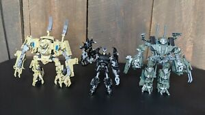 Transformers Studio Series Movie Lot Brawl, Bonecrusher, and Barricade Complete!