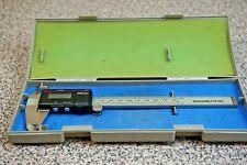 Genuine 500 351 Mitutoyo 6 Digimatic Digital Caliper 001 150mm New Battery