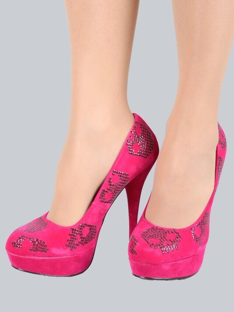 Iron Fist Schuhe - High Heel  Sugar Hiccup-Platform , Rosa, Größen  38, 39, 40