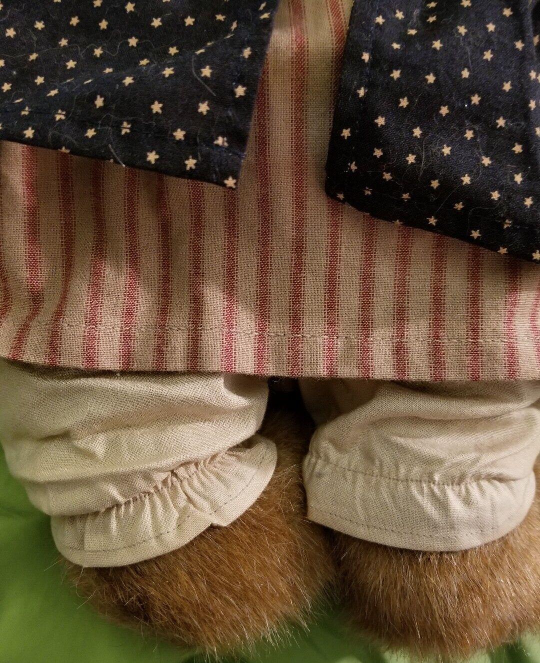 Boyds Bears Bears Bears Betsy B. Bearyproud  999869V QVC Exclusive Plush Stuffed Animal 16