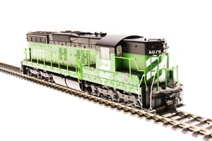 Broadway Limited 4945 EMD SD7, BN #6024, Green and Black, Paragon3 Sound/DC/DCC