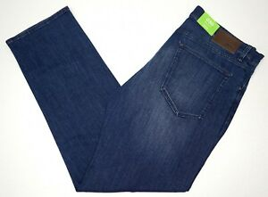 NWT-145-HUGO-BOSS-BLUE-JEANS-Stretch-Regular-Fit-Mens-C-Maine1-50320320-426-NEW