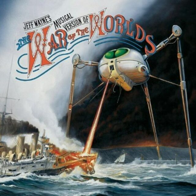 "Jeff Wayne's Musical Version of the War of the Worlds - Jeff Wayne (12"" Album)"