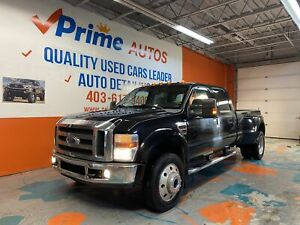 2008 Ford F 450 DUALLY LARIAT 4X4 MINT SHAPE/ LOW MILEAGE