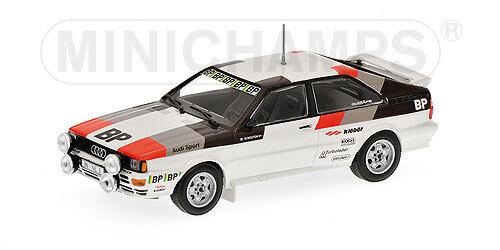 AUDI QUATTRO RALLYE BP Test Car 1981 Michelle Mouton