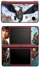 SKIN STICKER AUTOCOLLANT DECO POUR NINTENDO DSI XL REF 27 DRAGON